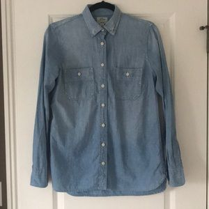 J Crew Chambray Denim Shirt